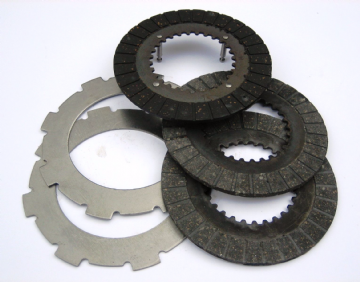 REDUCTION GEARBOX CLUTCH PLATE SET #132A